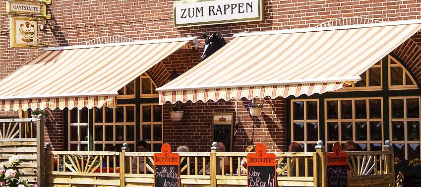 """Restaurant Trittau """"Zum Rappen"""" - Aussenansicht"""