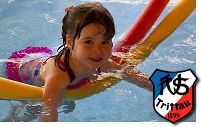 Schwimmen lernen im TSV Trittau.
